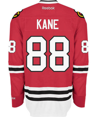 REEBOK CHICAGO BLACKHAWKS KANE #88 SR HOME JERSEY