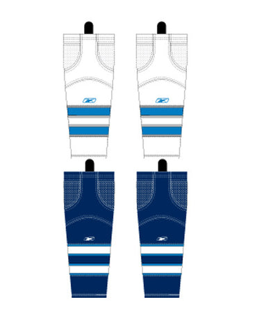 REEBOK EDGE WINNIPEG JR HOCKEY SOCKS