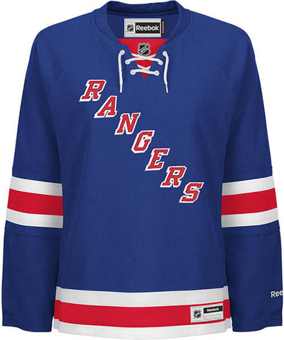 REEBOK NEW YORK RANGERS WOMEN'S HOME JERSEY
