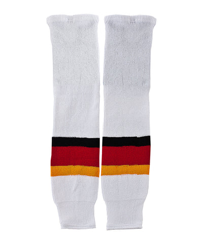 CCM S100 SR HOCKEY SOCKS CALGARY FLAMES