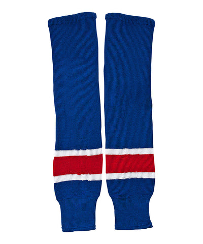 CCM S100 SENIOR HOCKEY SOCKS NEW YORK RANGERS