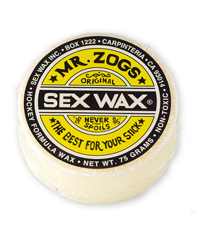 MR. ZOGS SEX WAX HOCKEY STICK WAX - ASSORTED COLOURS