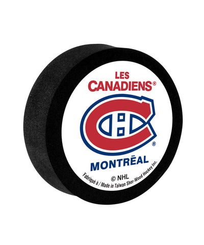 SHER-WOOD MONTREAL CANADIENS MINI FOAM PUCK