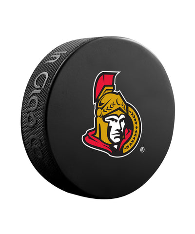 SHER-WOOD OTTAWA SENATORS BASIC LOGO PUCK