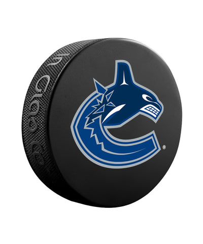 SHER-WOOD VANCOUVER CANUCKS BASIC LOGO PUCK