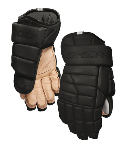 SHER-WOOD BPM LE SR HOCKEY GLOVES BLACK