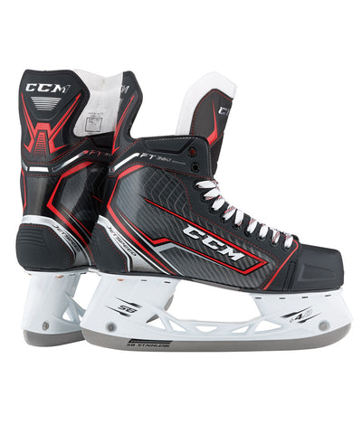 CCM JETSPEED FT360 JUNIOR HOCKEY SKATES