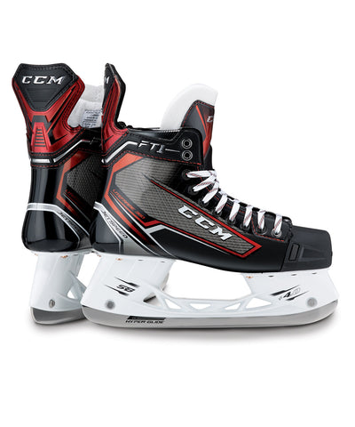 CCM JETSPEED FT1 YTH HOCKEY SKATES