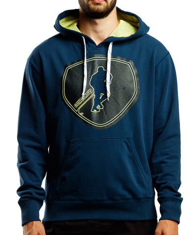 GONGSHOW BLACK AND BLUE SR HOODY
