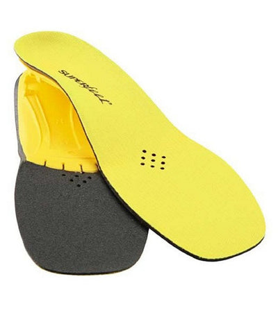 SUPERFEET YELLOW YTH HOCKEY FOOTBEDS