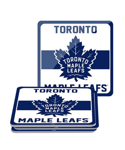 TORONTO MAPLE LEAFS 4PK PVC COASTER SET