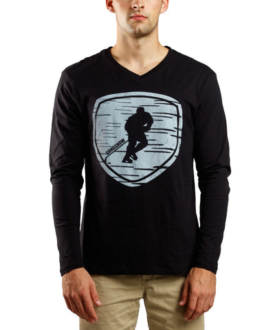 GONGSHOW BACK IN BLACK MEN'S SHIRT