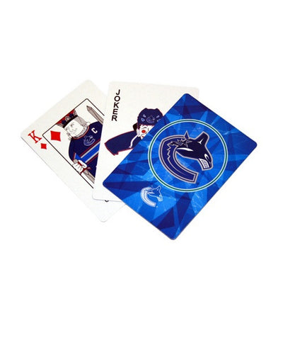 FRAMEWORTH VANCOUVER CANUCKS PLAYING CARD SET