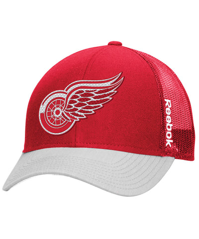 REEBOK DETROIT RED WINGS TNT ADJ MESH SR CAP