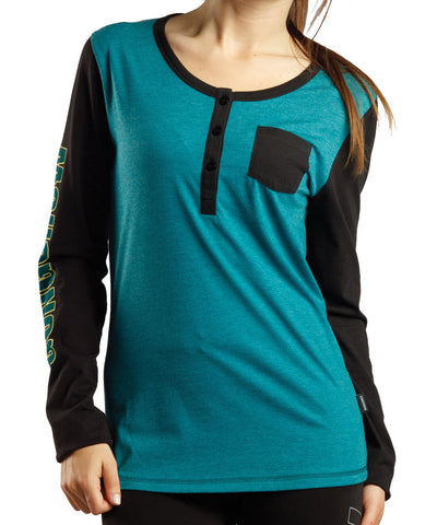 GONGSHOW HEART ON YOUR SLEEVE WOMEN'S LS SHIRT