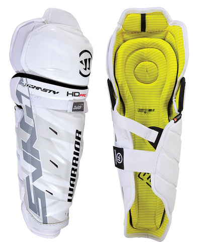 WARRIOR DYNASTY HD PRO SR HOCKEY SHIN GUARDS