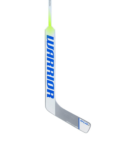 WARRIOR RITUAL CR2 SR GOALIE STICK WHITE/BLUE