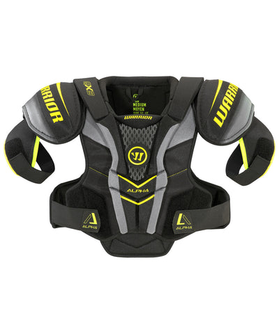 WARRIOR ALPHA QX3 JR HOCKEY SHOULDER PADS