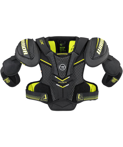 WARRIOR ALPHA QX JR HOCKEY SHOULDER PADS