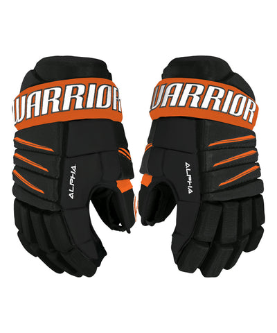 WARRIOR ALPHA QX3 JR HOCKEY GLOVES
