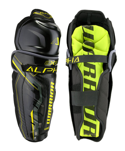 WARRIOR ALPHA QX3 SR HOCKEY SHIN GUARDS