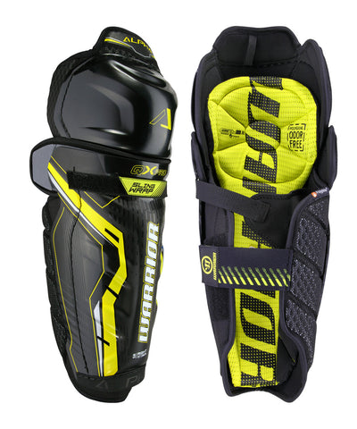 WARRIOR ALPHA QX PRO SR HOCKEY SHIN GUARDS