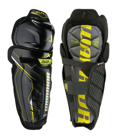 WARRIOR ALPHA QX SR HOCKEY SHIN GUARDS
