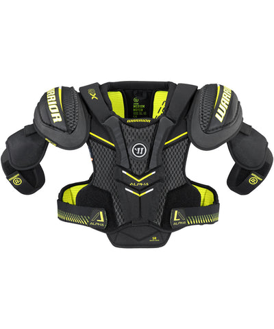 WARRIOR ALPHA QX SR HOCKEY SHOULDER PADS
