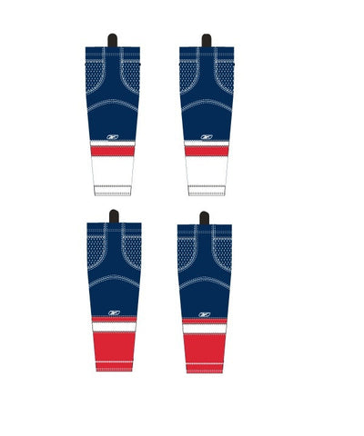 REEBOK EDGE WASHINGTON JUNIOR HOCKEY SOCKS