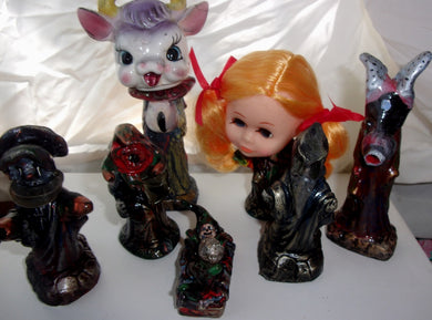 Monsters collection things that go bump in the night and watch you while you sleep creature menagerie