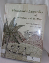 Hawiian legends of tricksters and riddlers by Vivian L. Thompson vintage book with book jacket 1969 hard cover Sylvie Selig illustrator