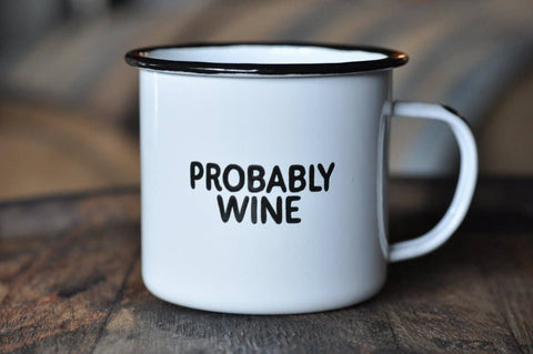Swag Brewery - Probably Wine | Enamel Mug