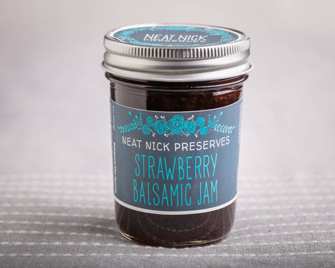Neat Nick Preserves - Strawberry Balsamic Jam