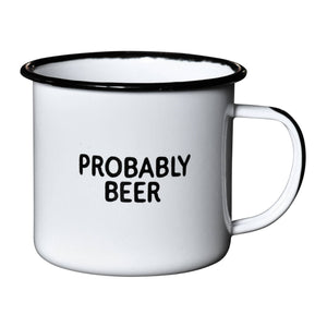 Swag Brewery - Probably Beer | Enamel Mug