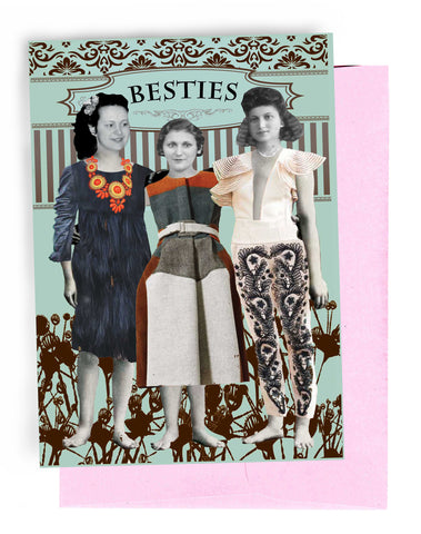 Erin Smith Art - 321 Besties Greeting Card