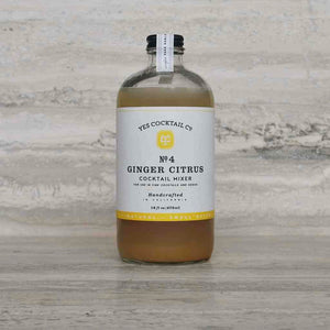 Yes Cocktail Co. - Ginger Citrus Cocktail Mixer