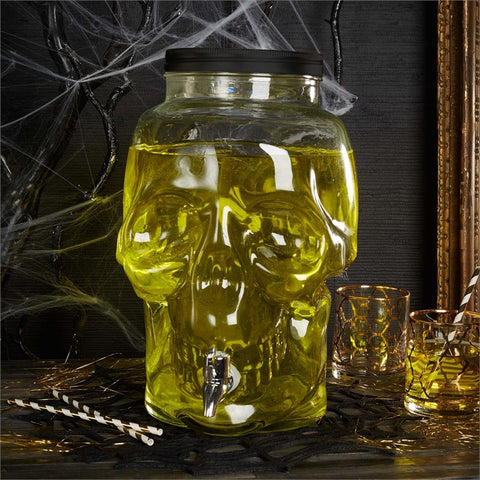 Skull 2.2 gallon Beverage Dispenser