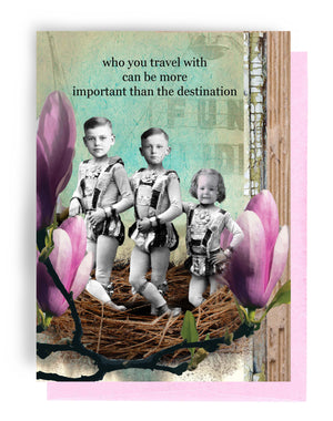 Erin Smith Art - 341 Destination Greeting Card
