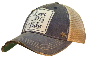 Vintage Life - Love My Tribe Distressed Trucker Cap