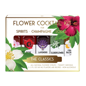 Floral Elixir Co. - The Classics Flower Cocktail Kit