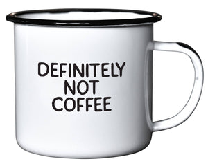 Swag Brewery - Definitely Not Coffee | Enamel Mug