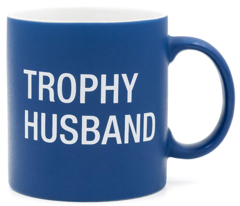 About Face Designs - Trophy Husband Stoneware Mug