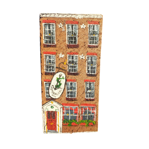 Linda Amtmann Hand Painted Brick-Admiral Fell Inn