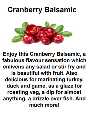 Cranberry Balsamic