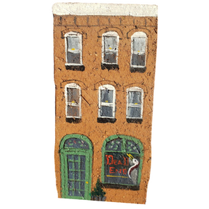 Linda Amtmann Hand Painted Brick-Dead End