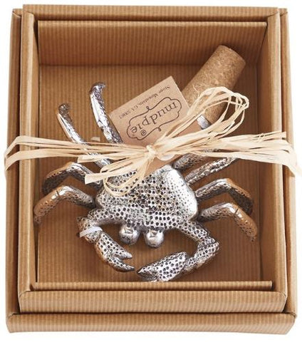 Mud Pie Crab Bottle Topper