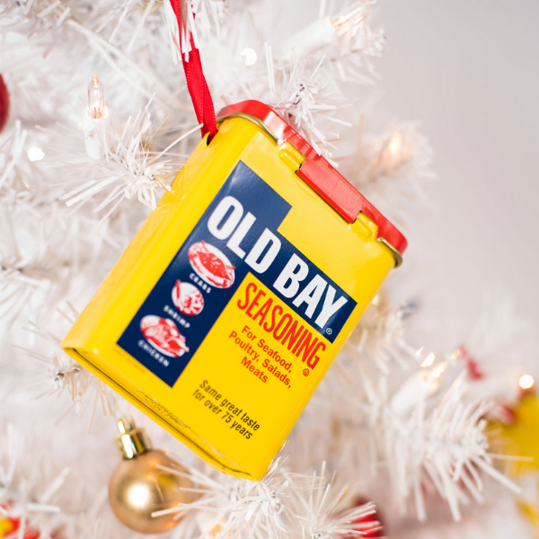 Old Bay Tin Ornament