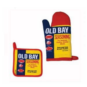 Old Bay Mitt & Poholder
