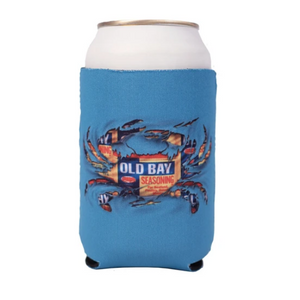 Old Bay Shattered Crab Koozie