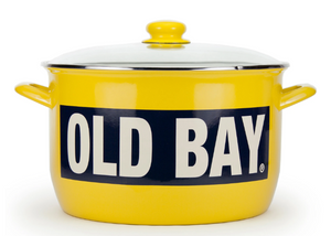 Old Bay Enamel Crab Pot